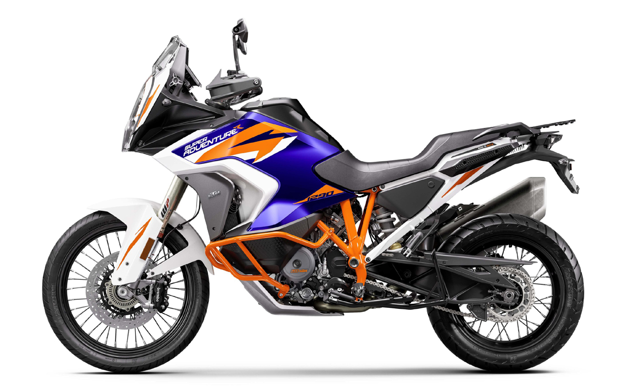 KTM 1200 Super Adventure R technical specifications